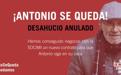 #AntonioSeQueda