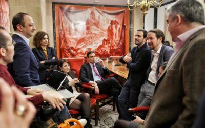 Acuerdo PSOE-UP. No pararemos hasta que se regulen los alquileres