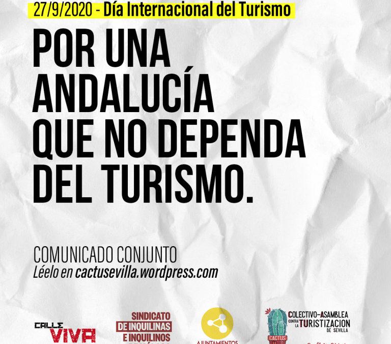 Por una Andalucía que no dependa del Turismo